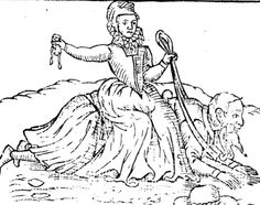 """""""The Brideling, Sadling, and Ryding of a rich Churle,"""" pamphlet published 1594"""