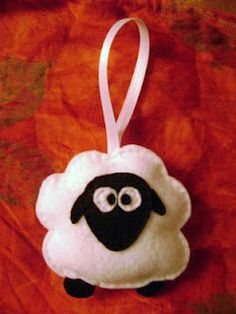 1000 images about classroom crafts on pinterest ocean for Sheep christmas ornament craft