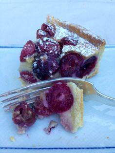 CLAFOUTIS DE CEREZAS. TARTA DE CEREZAS FRANCESA - MY EUROPEAN CAKES Cheesecake, Chocolate, Desserts, Food, Image, Vestidos, Health Desserts, Cake Recipes, Food Items