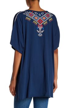 Embroidered Poncho by Johnny Was on @HauteLook