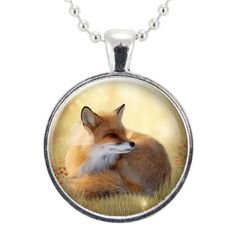 Sweet Fox Necklace Cute Woodland Friend Cellsdividing - This Necklace Features A Sweet And Cute Fox Design Pendant Size Is Mm Approximately Inch And Hangs From A Matching Inch Silver Plated Ball Chain Fine Art Print Sealed Under A Smooth Glass Fox Crafts, Crazy Nail Art, Animal Nail Art, Fox Decor, Dog Poster, Dog Anxiety, Fox Art, Cute Fox, Fox Design