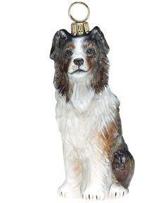 Joy to the World Pet Charity Ornament, Pet Set Australian Shepherd  http://CelebNewsPlus.com