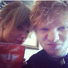 Taylor Swift and Ed Sheeran seeing them in concert in May so excited i cant wait!!!!!!!!!!!!!