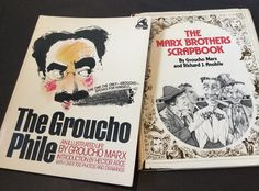 Vtg Groucho Marx Brothers Books X 2 The Groucho Phile + Marx Brothers Scrapbook in Books, Magazines, Antiquarian & Collectable | eBay!