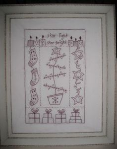 Starlight Starbright Pattern comes pre printed on quilter's muslin.