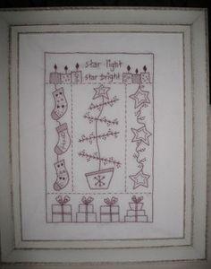 Stitchery Patterns STARLIGHT /& STARBRIGHT QUINLAN