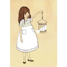 Belle & Boo ansichtkaart Gentleness white