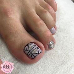 Pedicure Designs, Pedicure Nail Art, Toe Nail Designs, Toe Nail Art, Toe Nails, Finger Nails, Simple Toe Nails, Decorations, Gold Gel Nails