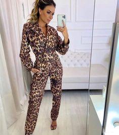 Leopard Clothes, Leopard Outfits, Jumpsuit, Dresses, Fashion, Overalls, Vestidos, Moda, Fashion Styles