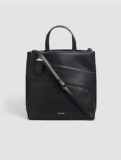 0e58dd660e Calvin Klein Womens Faux Leather North south Tote Black. KL Moody · Tote  bags · Vera Bradley ...