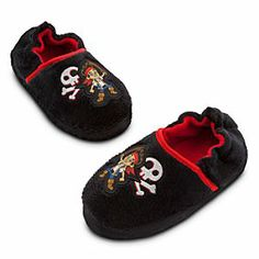 Jake and the Never Land Pirates Disney Store Boys Jake /& Skully Flip Flops