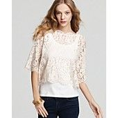 Joie Top & Tank lace