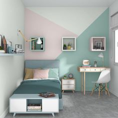 5 Tipps zur Warenangebot welcher richtigen Ton zum Besten von ein Kinderzimmer 5 tips on the range of products which right tone for the best of a children's room déco Bedroom Wall Designs, Room Design Bedroom, Room Ideas Bedroom, Home Room Design, Small Room Bedroom, Bedroom Decor, Child's Room, Girl Bedroom Walls, Preteen Bedroom