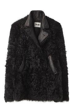 wardrobejulia: Acne Fur Coat God ! (via inunomimi)
