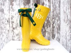 Game Day Rain Boots