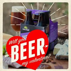 Will you #beer my Valentine?