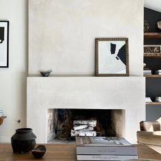 Interior Inspiration, Design Inspiration, Modern Mountain Home, Chimney Breast, Floor Plan Layout, Modern Office Design, Fireplace Design, Built Ins, Decoration