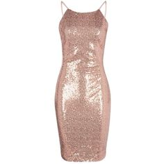 Boohoo Petite Evie Scoop Back Sequin Midi Dress | Boohoo ($44) ❤ liked on Polyvore featuring dresses, pink dress, petite dresses, midi dress, scoop back dress and calf length dresses