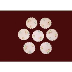 Cotton Embroidered Doily 01