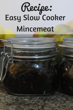 Easy Slow Cooker Mincemeat Recipe