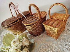 Vintage baskets..