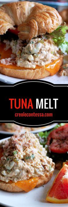 Tuna Melt -Creole Contessa
