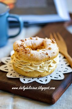 dailydelicious thai: Peanut butter Paris-Brest