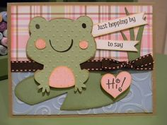 Create a Critter - Frog