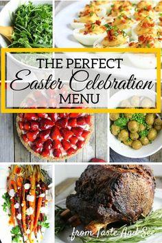 Easter Celebration Menu