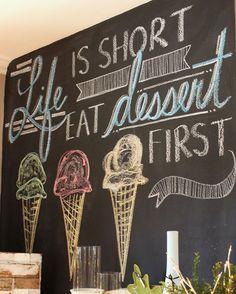 Amen! // Chickabug Blog - #Dessert #DessertQuotes #EatDessert