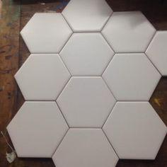 ceramica acuarela hexagonal blanca o negra m2