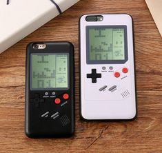 Retro Tetris Nintendo Gameboy Blokus Console Case Cover for iPhone X 8 Plus 7 Phone Cover, Cell Phone Cases, Iphone Cases, Gameboy Iphone, Best Gaming Laptop, Retro Phone, Protective Cases, Phones, Retro Games