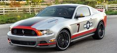 Ford Mustang GT 2013 Red Tail