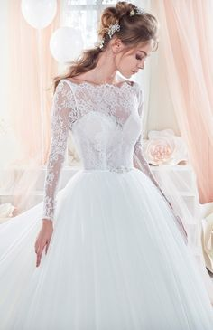 Bridesfamily Amazing Lace & Tulle Bateau Neckline A-Line See-through Wedding Dresses With Belt Muslim Wedding Dresses, Muslim Brides, Wedding Dress Styles, Designer Wedding Dresses, Muslim Couples, Fashion Group, Bridal Gowns, Wedding Gowns, Moroccan Dress