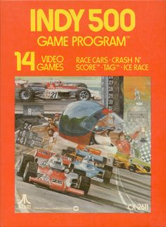 Indy 500 is a 1977 racing video game developed by Atari, Inc. for its Video Computer System (later known as the Atari 2600).