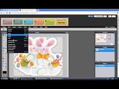 Aprenda colocar contorno branco na imagem utilizando o Photoshop Online - YouTube