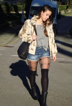 casual #fashion #style #outfit , Stradivarius in Jumpsuits, Zara in Shorts, Mango in Ankle Boots / Booties, Calzedonia in Socks / Tights, Mango in Coats, vintage in Bags