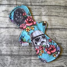 29cm Cloth Pad  MODERATE Absorbency  Floral Wars