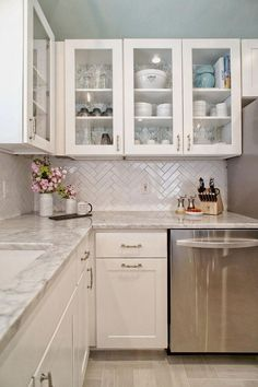 Corner Cabinetry - CLICK THE IMAGE for Many Kitchen Ideas. #kitchencabinets #kitchenorganization