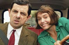 WHILE, FILMING A SCENE IN MR BEANS HOLIDAY AT CANNES  FESTIVAL PEOPLE IN THE  CROWD KEPT SHOUTING EMMA DE CAUNES' REAL  NAME.