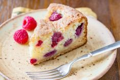 Raspberry Ricotta Breakfast Cake - Saving Room for Dessert