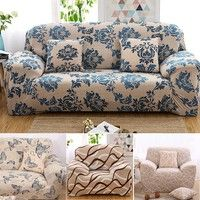 Sofa Cover Slipcover Stretch Lounge Couch Protector Slip Cover For Single Two Three Four Seat Wish Single Seater Sofa Lounge Couch Sofa Covers