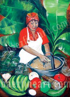 Art - Puerto Rican Art - Puerto Rican Artist Elizabeth Erazo Baez - Puerto Rican Pasteles