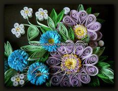квиллинг, quilling, handmade, paper art, цветы, подарок