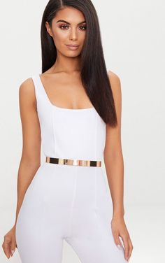Gold Thin Metal Plated Waist BeltElevate your going out look with this statement waist belt Featuring a gold thin metal plated material style with a bodycon dress and heels for a weekend worthy look Adjustable sizingLobster clasp fastening Gold Metal Belt, Belts For Women, Clothes For Women, Corset Belt, Gold Waist Belt, Latest Fashion For Women, Womens Fashion, Metal Fashion, High Fashion