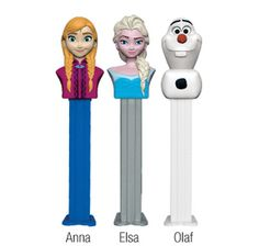 Disney Frozen PEZ dispensers - just got these sweeties in my stocking !