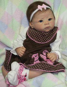Reborn Baby Girl~Jenny~Linda Murray, Andi Awake Doll | eBay