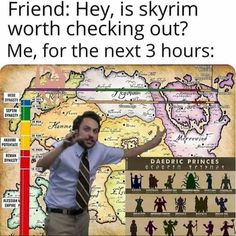 """Forty Rando Memes That Serve No Point But Entertainment - Funny memes that """"GET IT"""" and want you to too. Get the latest funniest memes and keep up what is going on in the meme-o-sphere. The Elder Scrolls, Elder Scrolls Memes, Elder Scrolls Skyrim, Oblivion, Videogames, Skyrim Funny, Video Game Memes, Memes Of The Day, Funny Games"""
