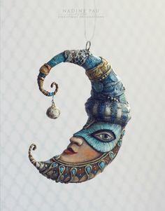 Фотографии Nadine Pau - masks, dolls and ornaments. – 18 альбомов | ВКонтакте