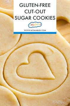 Use 1 cup pillsbury GF flour. The perfect gluten-free sugar cookies that you can cut-out and decorate for any occasion! Gluten Free Sugar Cookies, Gluten Free Sweets, Sugar Cookies Recipe, Gluten Free Baking, Yummy Cookies, Gf Recipes, Gluten Free Recipes, Cookie Recipes, Dessert Recipes